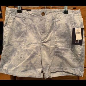 Light tye dye GAP shorts!